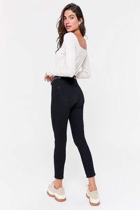 BDG Twig Grazer High-Rise Skinny Jean - Black