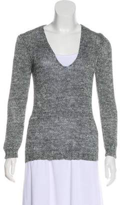 Max Mara Weekend Rib Knit V-Neck Sweater