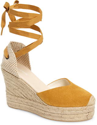 1a0098390c Soludos Mallorca Lace-Up Espadrille Wedge Sandal