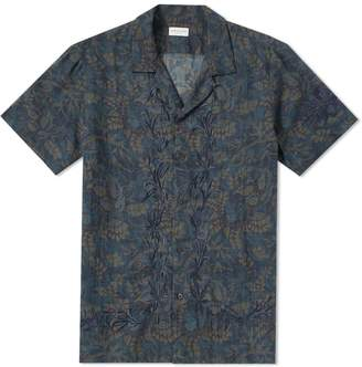 Dries Van Noten Short Sleeve Embroidered Vacation Shirt