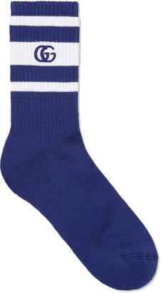Stretch cotton socks with GG $95 thestylecure.com