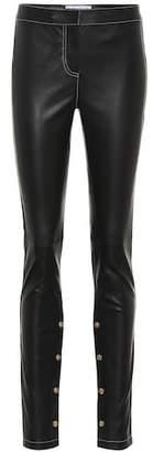 Loewe Embellished leather pants
