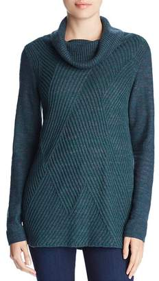Nic+Zoe North Star Cowl-Neck Sweater