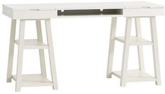 Pottery Barn Teen Customize It Project Trestle Desk, Simply White