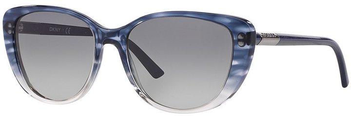 DKNYDKNY DY4121 56mm Girlie Glam Cat-Eye Gradient Sunglasses