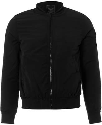 Brave Soul Men's Bert Bomber Jacket - Black