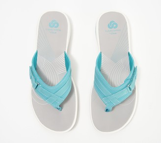 Clarks CLOUDSTEPPERS by Sport Thong Sandals - Breeze Sea