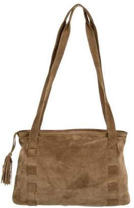 Bottega Veneta Suede Shoulder Bag Brown Suede Shoulder Bag
