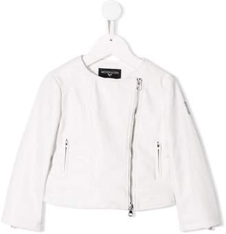 MonnaLisa TEEN collarless side zip jacket