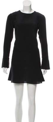 Thakoon Long Sleeve Mini Dress