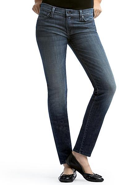 7 for all Mankind Gwenevere Skinny Jean, Baltimore Wash