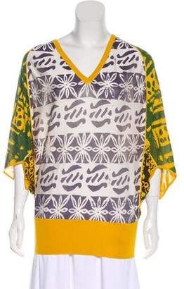 Duro Olowu Silk Patterned Top