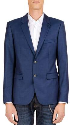 The Kooples Joy Daks Wool Slim Fit Sport Coat
