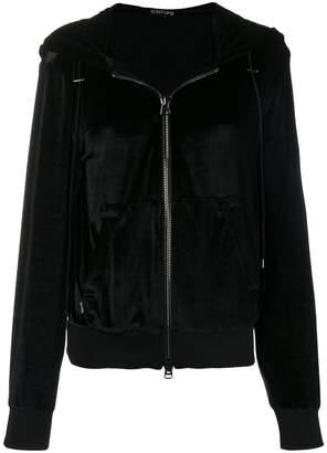 Tom Ford (トム フォード) - Tom Ford zipped velvet jacket
