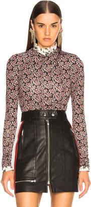 Etoile Isabel Marant Trend Top in Red & Black | FWRD