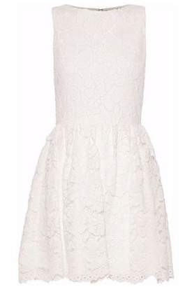 Alice + Olivia Alice+olivia Flared Corded Lace Mini Dress
