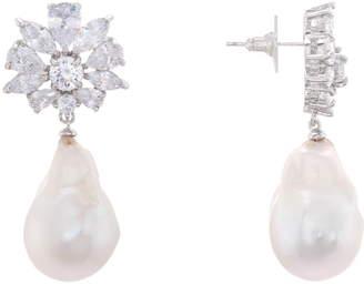 Nina Baroque Freshwater Pearl Cluster Earrings