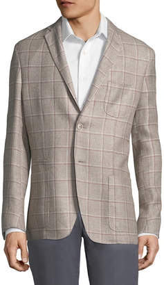 Corneliani Check Suit Jacket