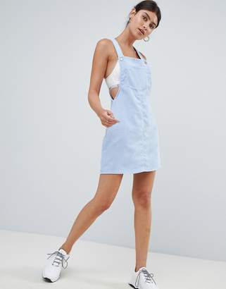 Missguided Cord Overall Dress