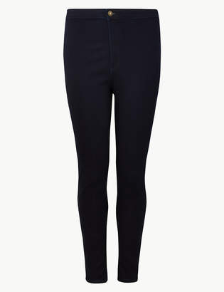 Marks and Spencer CURVE High Waist Ankle Grazer Jeans