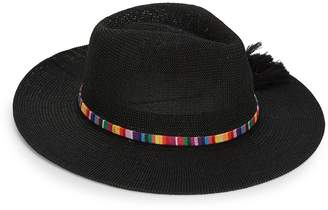 Collection 18 Women's Tasseled Panama Hat