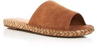 Toms Women's Clarita Suede Espadrille Slide Sandals