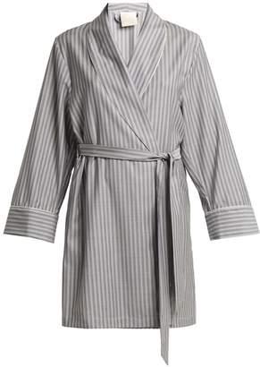 MORPHO + LUNA Alix striped wool robe