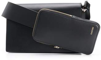 Lanvin pocket shoulder bag