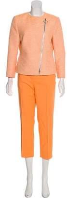 Akris Punto Textured Pant Set