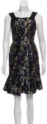 Marc Jacobs Brocade Mini Dress