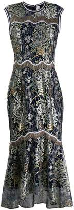 Peter Pilotto embroidered floral dress