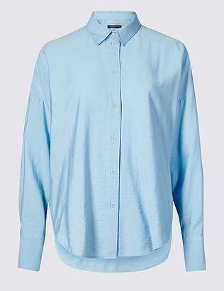 Marks and Spencer Oversized Long Sleeve Shirt