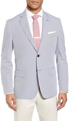 JB Britches Classic Fit Stripe Sport Coat