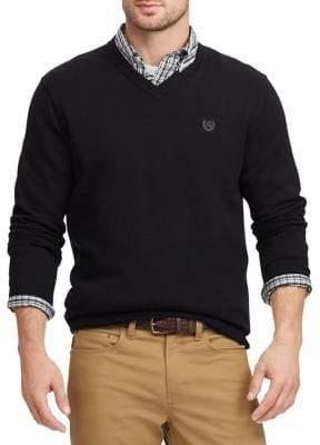 Chaps V-Neck Long-Sleeve Sweatshirt