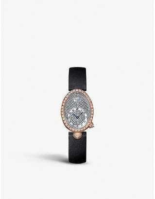 Breguet G8928BR8D844DD0D Queen of Naples 18ct rose gold and diamond watch
