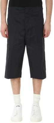 Jil Sander Blu Cotton Shorts