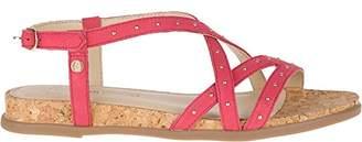 Hush Puppies Women's Dalmatian Pinstud Wedge Sandal