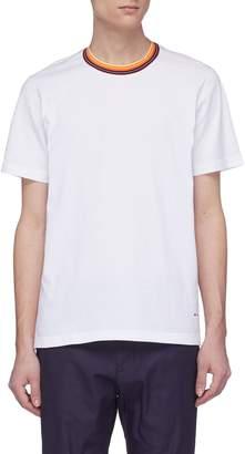 Marni Stripe collar T-shirt