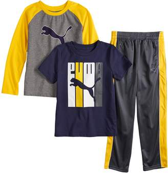Puma Boys 4-7 Tees & Pants Set