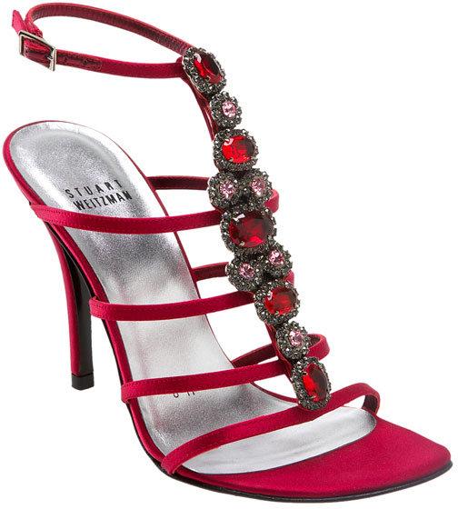 Stuart Weitzman 'Luxury' Evening Sandal
