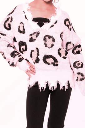 Malibu Sugar Leopard Sweater