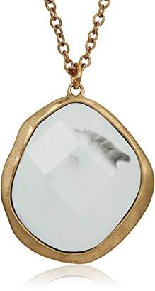 The Sak Stone Chain Pendant Necklace