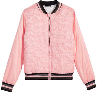 Epic Threads Big Girls Reversible Faux-Fur Bomber Jacket