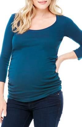Ingrid & Isabel R) Ruched Maternity Top