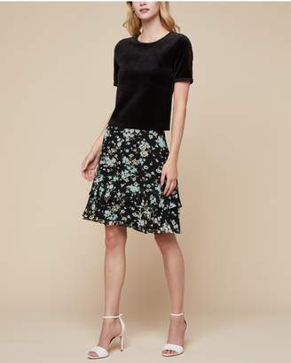 Juicy Couture Autumn Floral Skirt