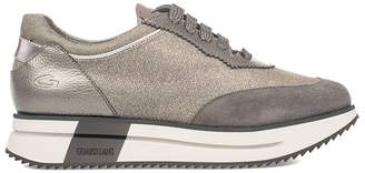 Alberto Guardiani Gray Sport Lady Way Sneakers