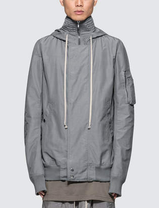 Rick Owens Hooded Short Bomber