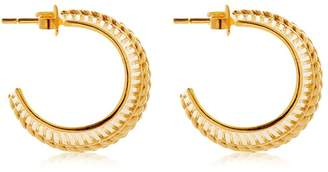 Collar Hoop Earrings