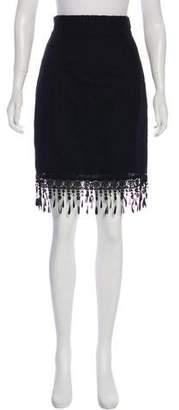 Lena Hoschek Lace Mini Skirt