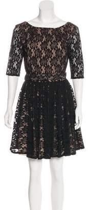 Rachel Zoe Mini Lace Dress
